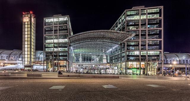 hlavní nádraží Berlína